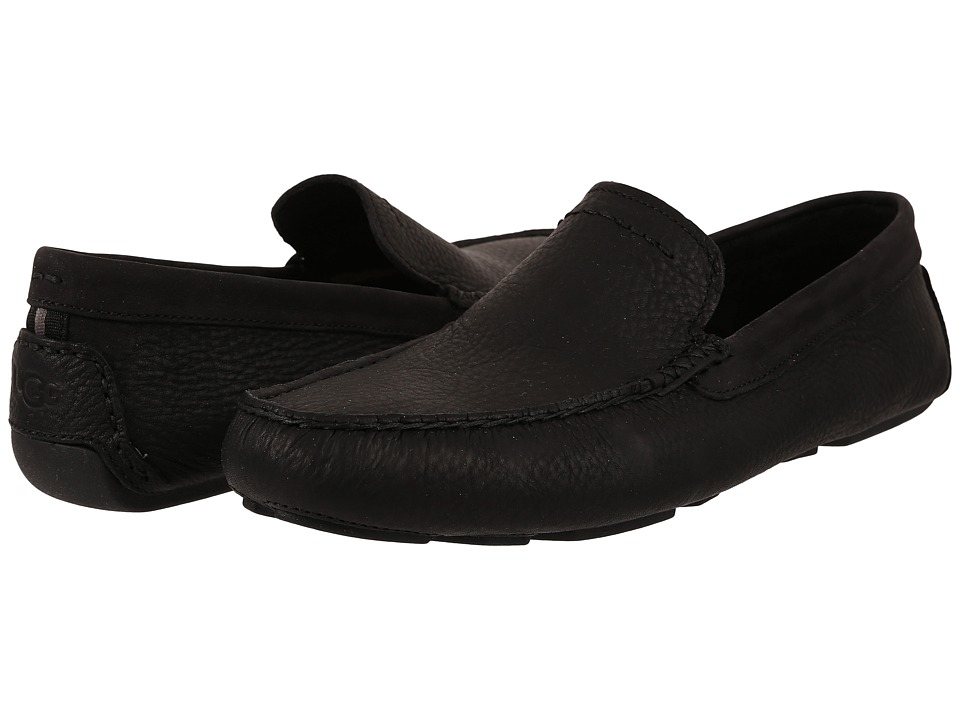 UGG - Henrick (Black Leather) Men