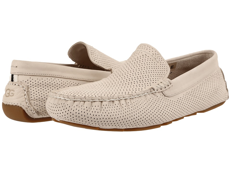 UGG - Henrick Perforated (White Nubuck) Men