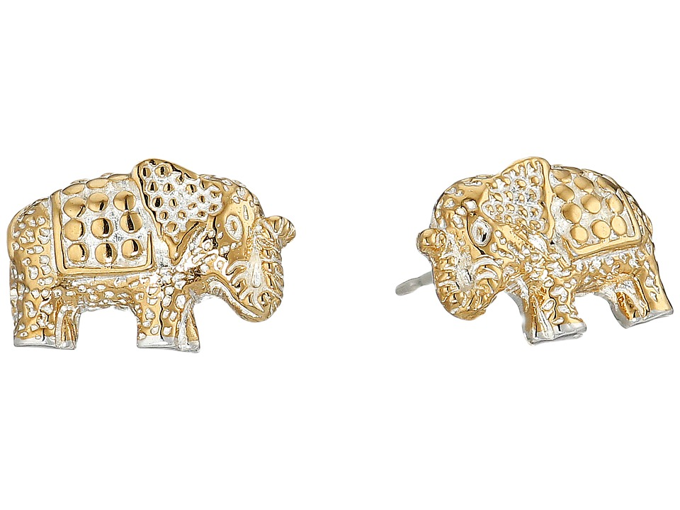 Anna Beck Elephant Stud Earrings Sterling Silver 2 Earring