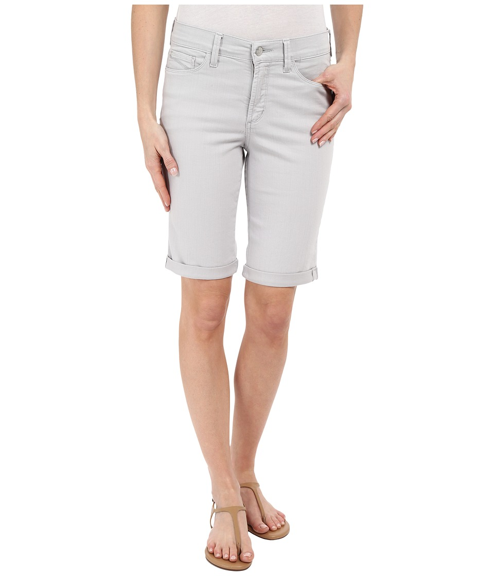 NYDJ Briella Short Pearl Grey Womens Shorts
