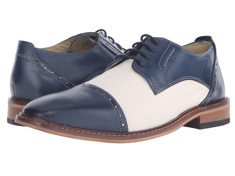 Giorgio Brutini - Daunt Mid Blue Mens Shoes $95.00 AT vintagedancer.com