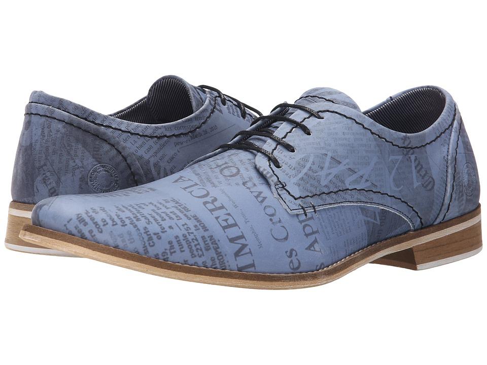 Steve Madden Phoennix Blue Mens Lace up casual Shoes