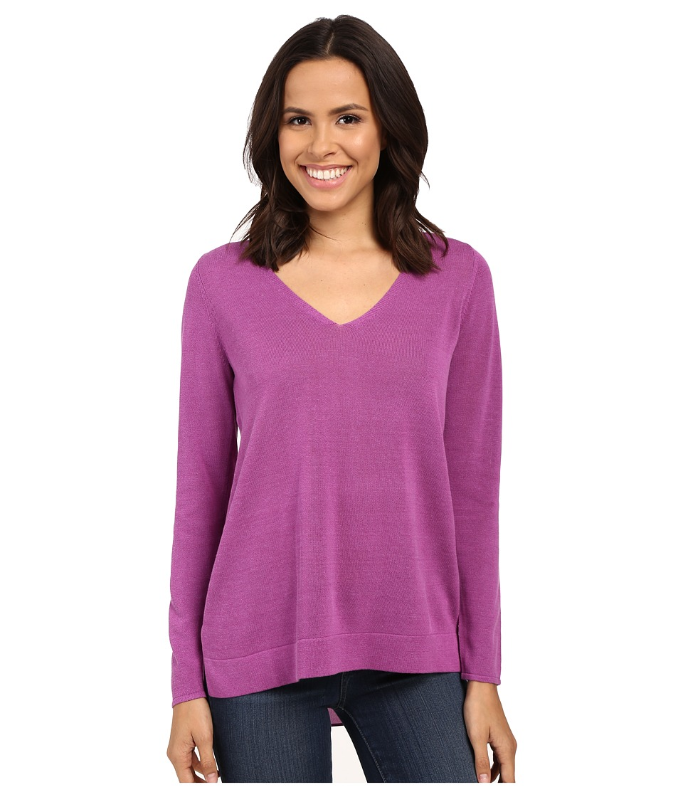 NYDJ - Mixed Media Sweater (Lotus Flower) Women