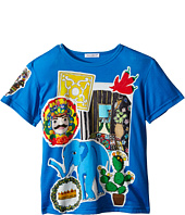 Dolce & Gabbana Kids - Patched T-Shirt (Toddler/Little Kids)