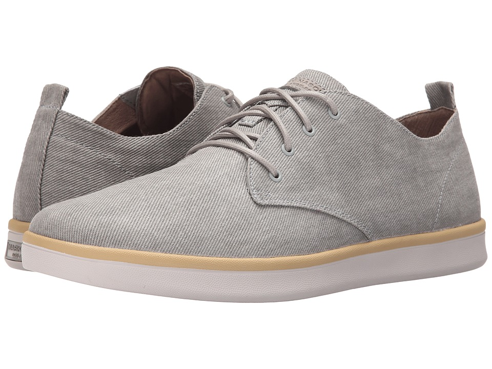 Mark Nason - Sycamore (Gray Canvas/Natural Pin/White Bottom) Men