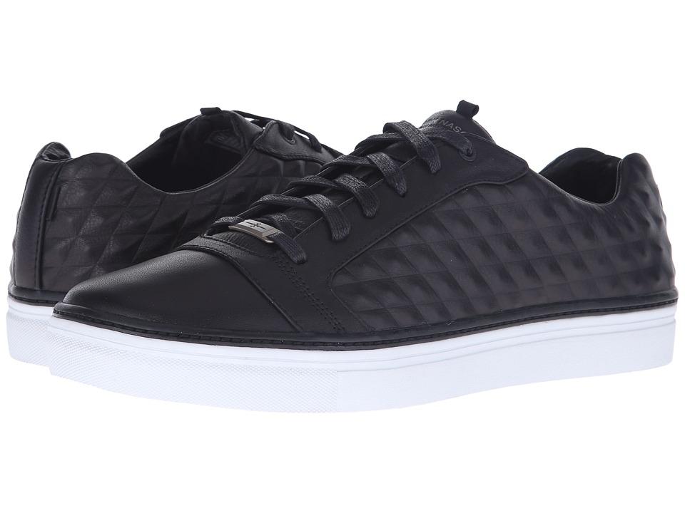 Mark Nason Montana Black Leather/White Bottom Mens Lace up casual Shoes