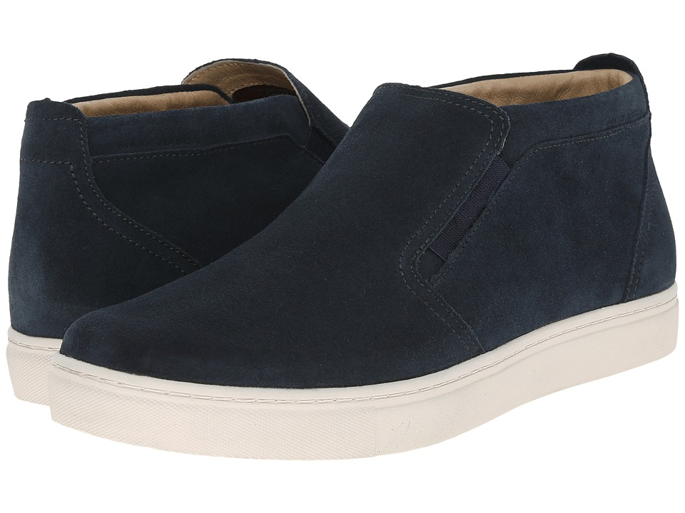 Mark Nason Banning Navy Suede/White Bottom Mens Slip on Shoes