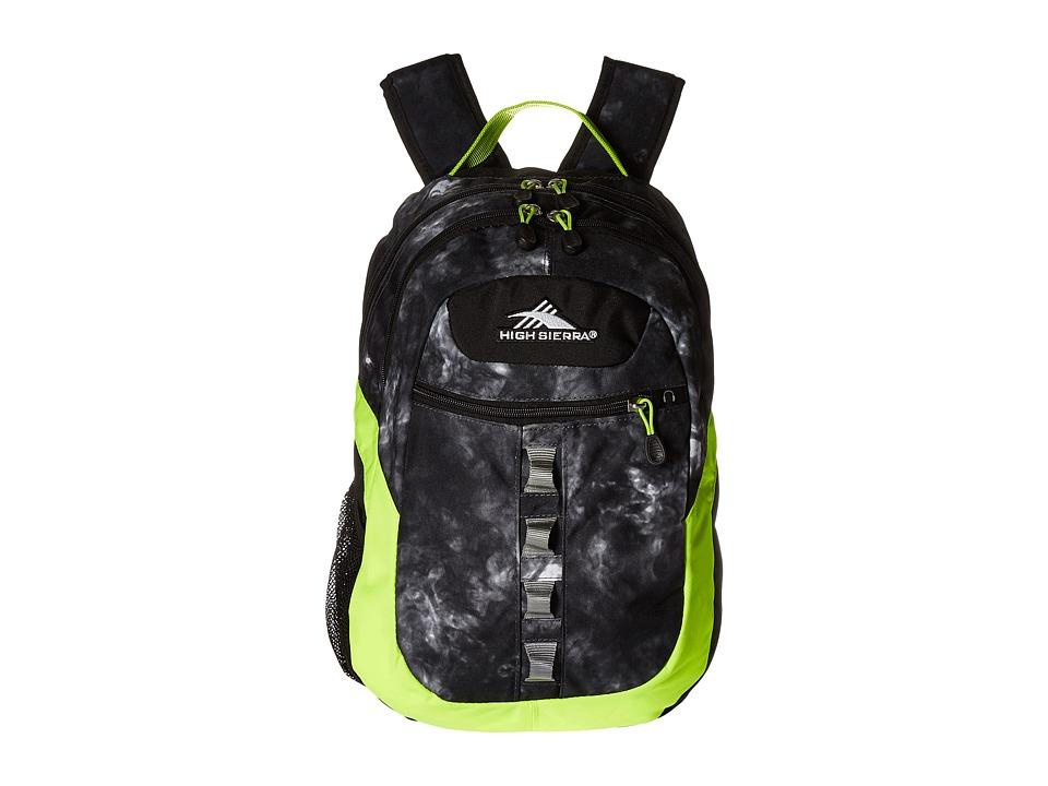High Sierra Opie Backpack Atmosphere/Black/Zest Backpack Bags