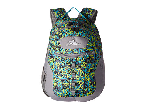 High Sierra Opie Backpack - Electric Geo/Charcoal/Tropic Teal