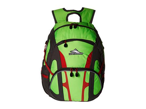 High Sierra Composite Backpack - Lime/Slate/Redline