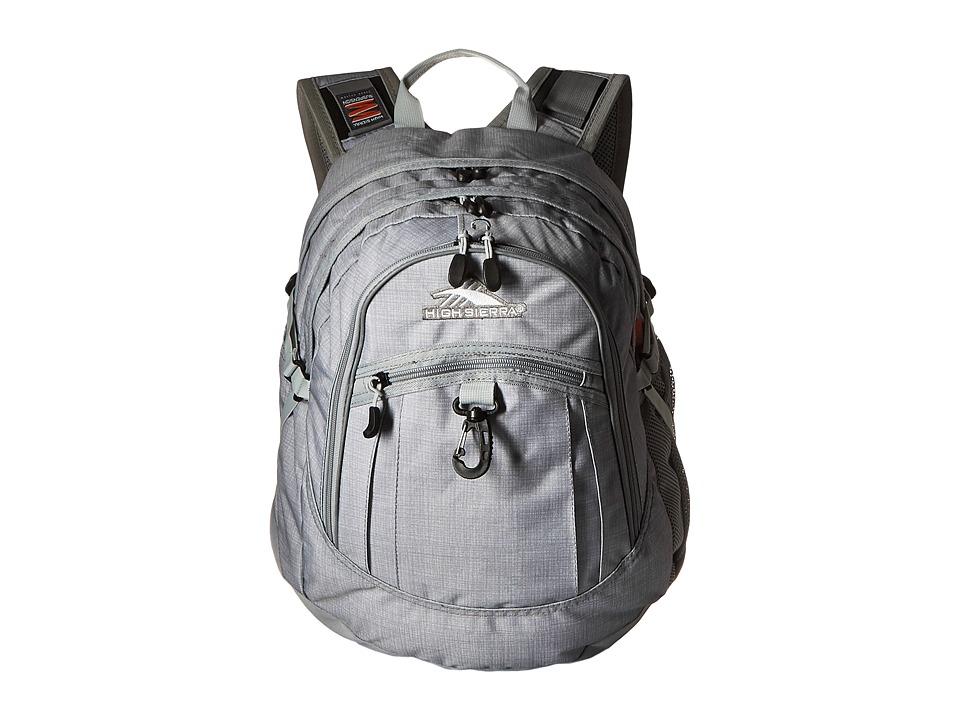 High Sierra - Fat Boy Backpack (Greyt/Ash/Silver) Backpack Bags