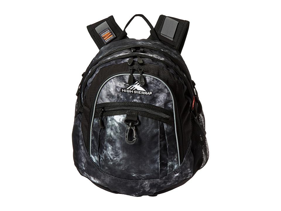 High Sierra - Fat Boy Backpack (Atmosphere/Black) Backpack Bags