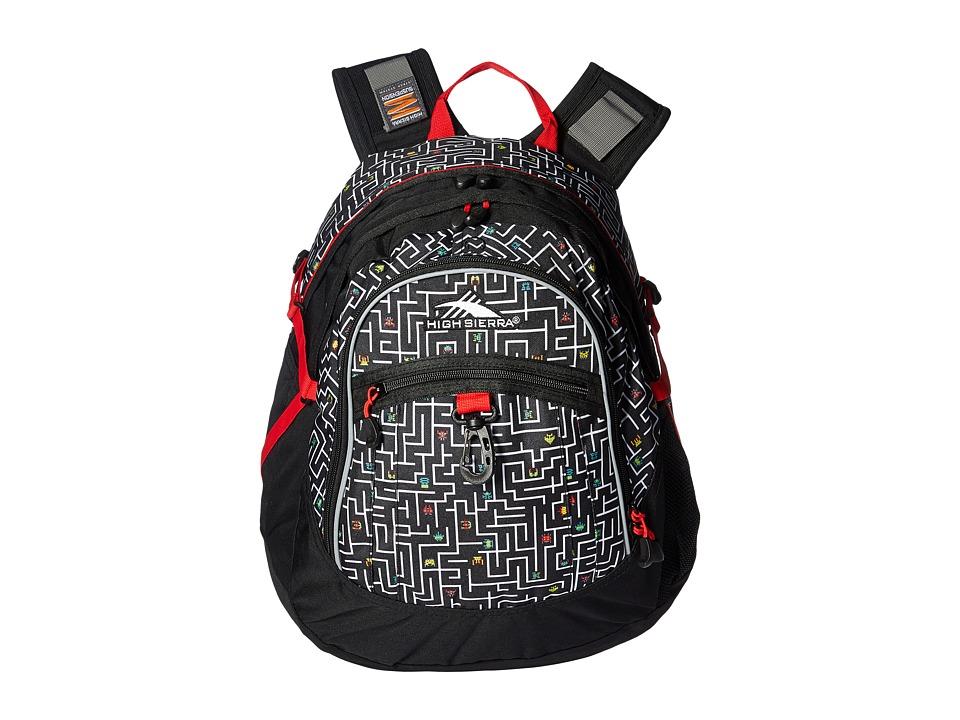 High Sierra - Fat Boy Backpack (Game On/Black/Crimson) Backpack Bags