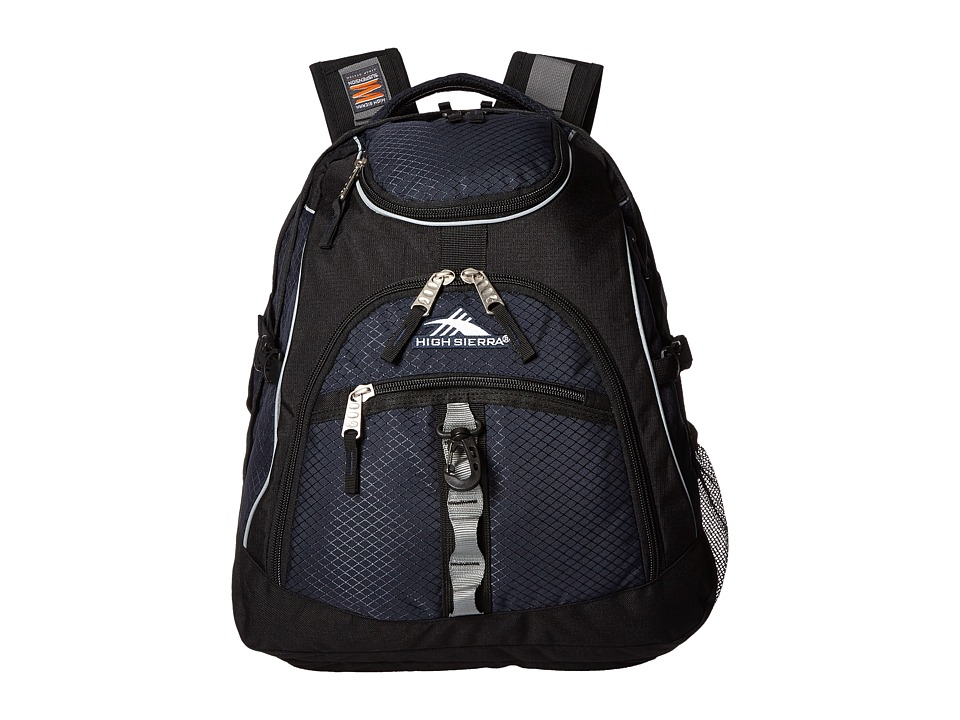 High Sierra - Access Backpack (Midnight Blue/Black) Backpack Bags