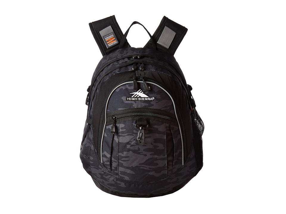 High Sierra - Tactic Backpack (Moss/Mercury/Zest) Backpack Bags