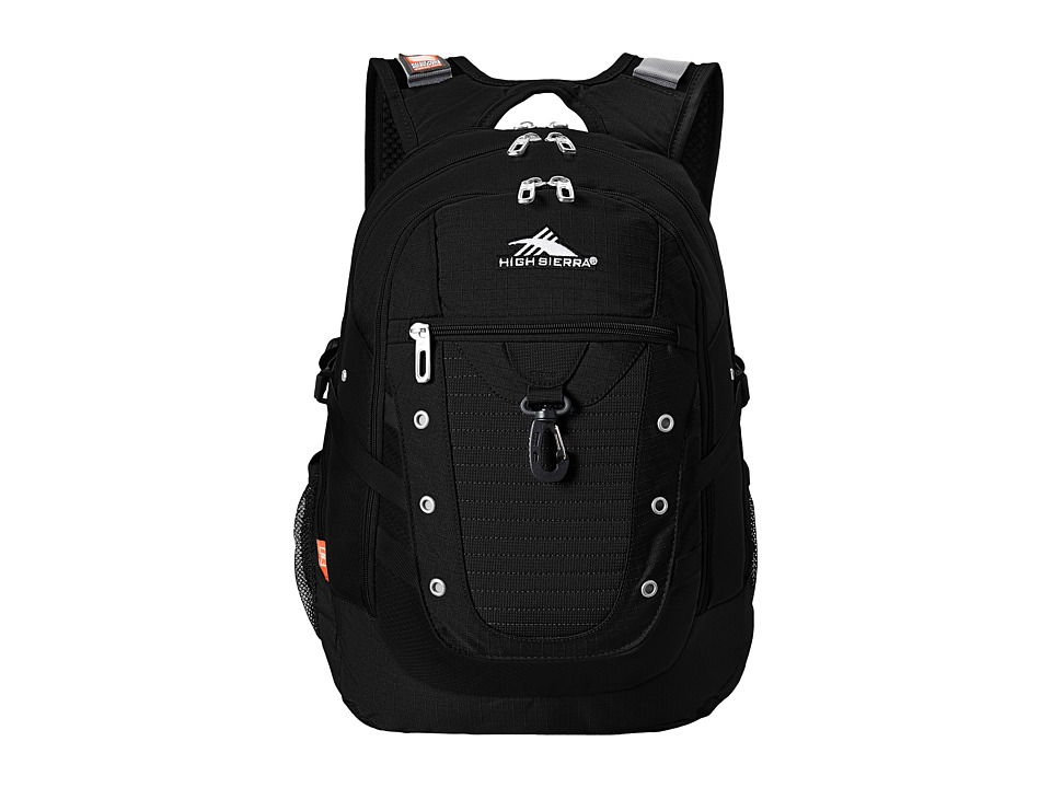 High Sierra Tactic Backpack (Black) Backpack Bags