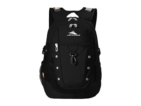 High Sierra Tactic Backpack - Black
