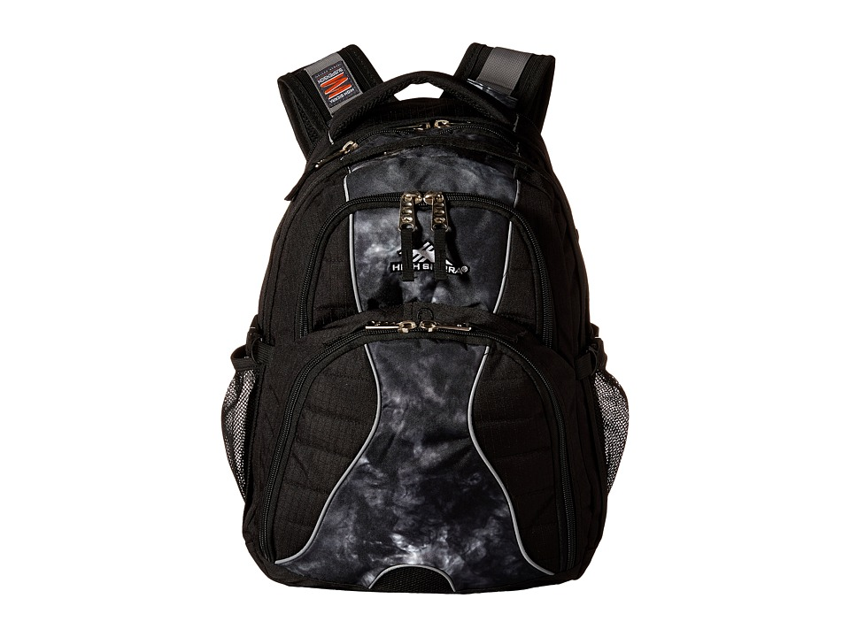 High Sierra - Swerve Backpack (Black/Atmosphere) Backpack Bags