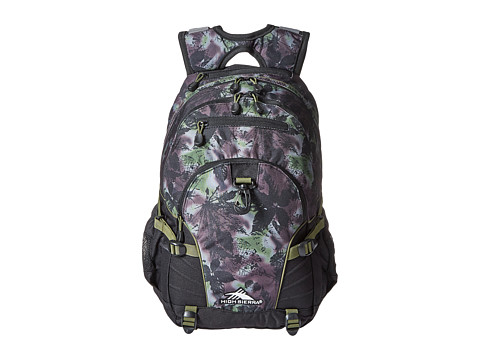 High Sierra Loop Backpack - Forest/Black/Moss