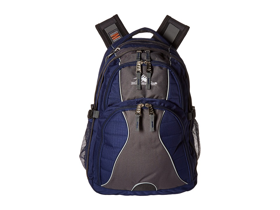 High Sierra - Swerve Backpack (True Navy/Mercury) Backpack Bags