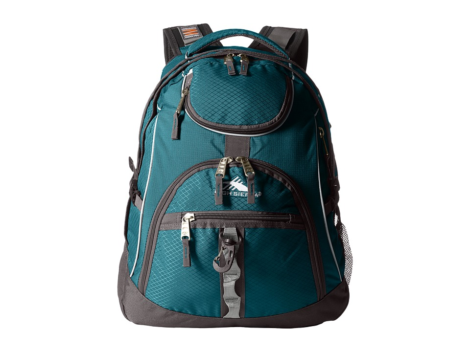 High Sierra Access Backpack (Lagoon/Slate) Backpack Bags