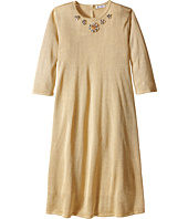 Dolce & Gabbana Kids - Lurex Long Sleeve Dress (Big Kids)