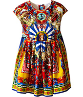 Dolce & Gabbana Kids - Wheel Foulard Dress (Toddler/Little Kids)