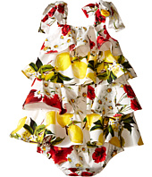 Dolce & Gabbana Kids - Ruffle Fiori Dress (Infant)