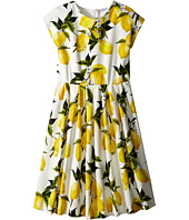 Dolce & Gabbana Kids - Limoni Interlock Dress (Big Kids)