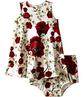 Dolce & Gabbana Kids - Fiori Interlock Dress (Infant)
