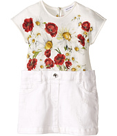 Dolce & Gabbana Kids - Fiori Combo Dress (Infant)