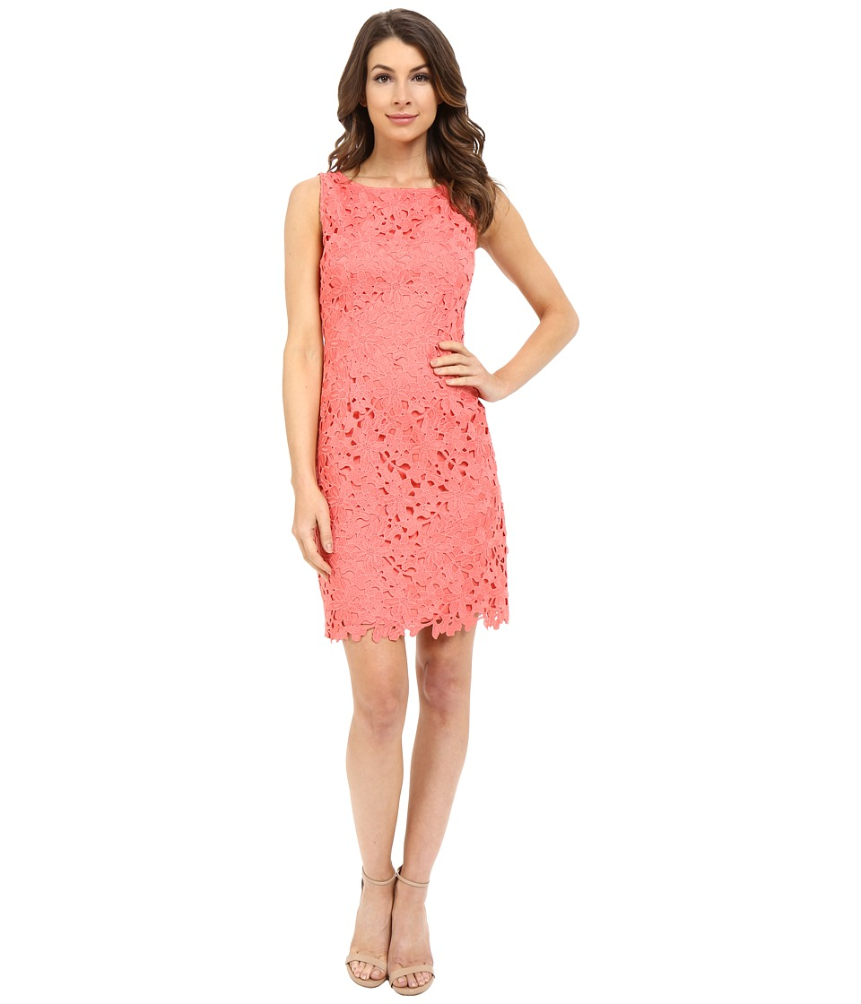 Tahari by ASL Bettie Q Dress Coral Womens Dress