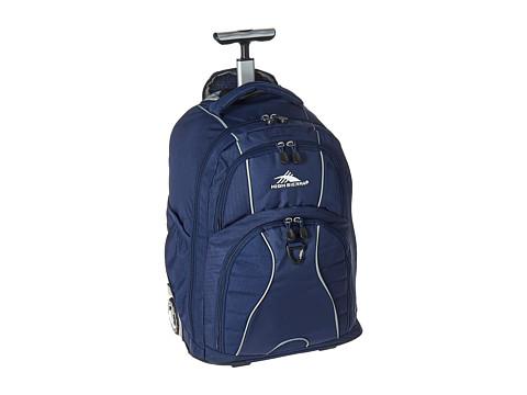 High Sierra Freewheel Wheeled Backpack - True Navy