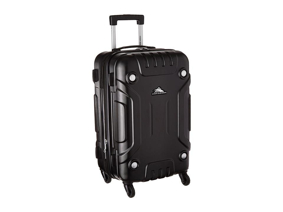 High Sierra - RS Series 21.5 Hardside Spinner (Black) Luggage