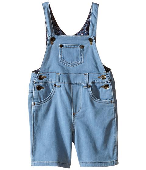 Dolce & Gabbana Kids Denim Overalls in Bright Blue (Infant)