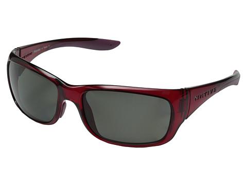 Native Eyewear Kannah - Crimson/Gray