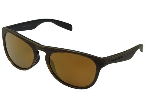Native Eyewear Sanitas - Wood/Black/Bronze Reflex