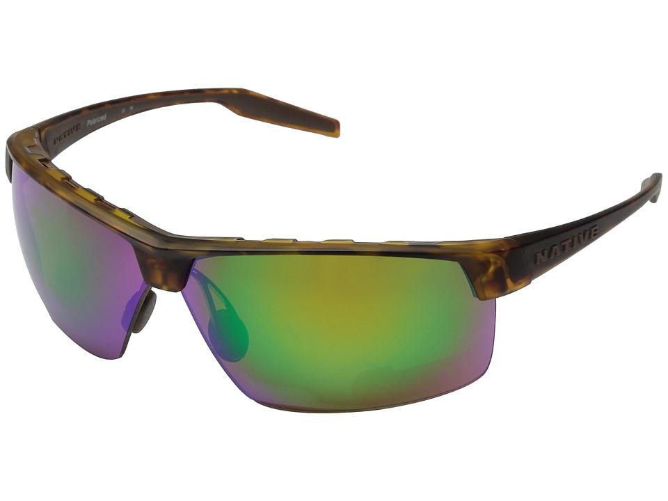 Native Eyewear Hardtop Ultra XP (Desert Tort/Green Reflex...