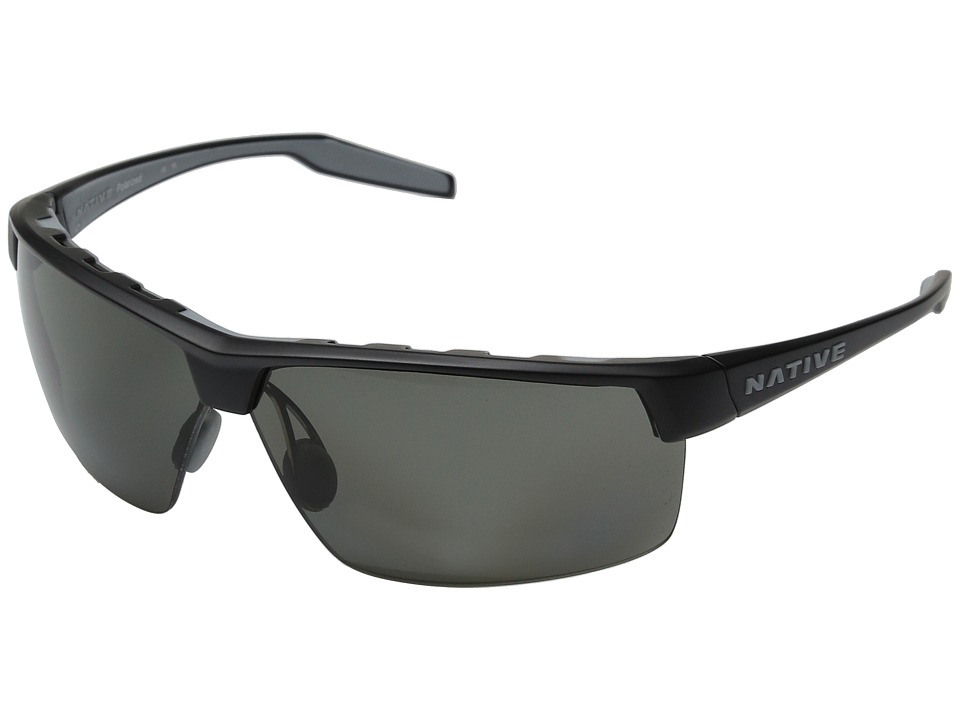 Native Eyewear Hardtop Ultra XP (Asphalt/Gray) Sport Sunglasses