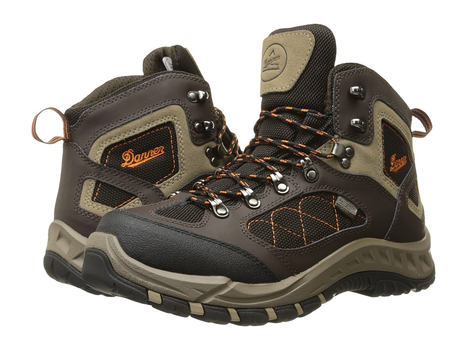 Danner - Trail Trek 4.5 (Brown/Orange) Mens Boots