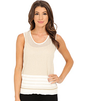 Calvin Klein - Sleeveless Shell with Lurex