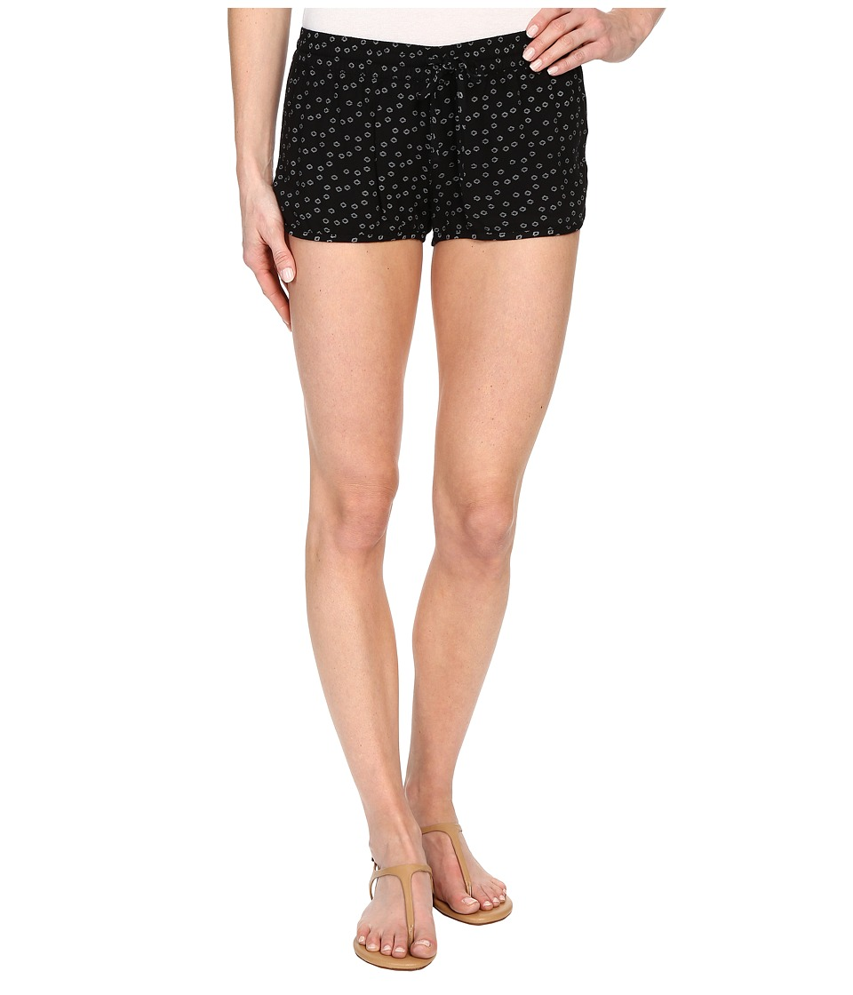 Hurley Beachrider Woven Shorts Black E Womens Shorts