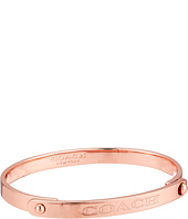 COACH - Metal Coach Plaque Tension Bangle