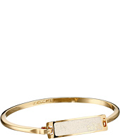 COACH - Thin Enamel Plaque Tension Bangle