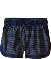 Splendid Littles - Indigo Striped Yarn Dye Shorts (Big Kids)