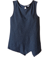 Splendid Littles - Indigo Striped High Neck Tank Top (Big Kids)