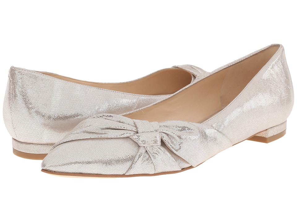 Nine West Aadi Light Silver Metallic Womens Shoes