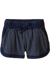 Splendid Littles - Indigo Striped Yarn Dye Shorts (Little Kids)