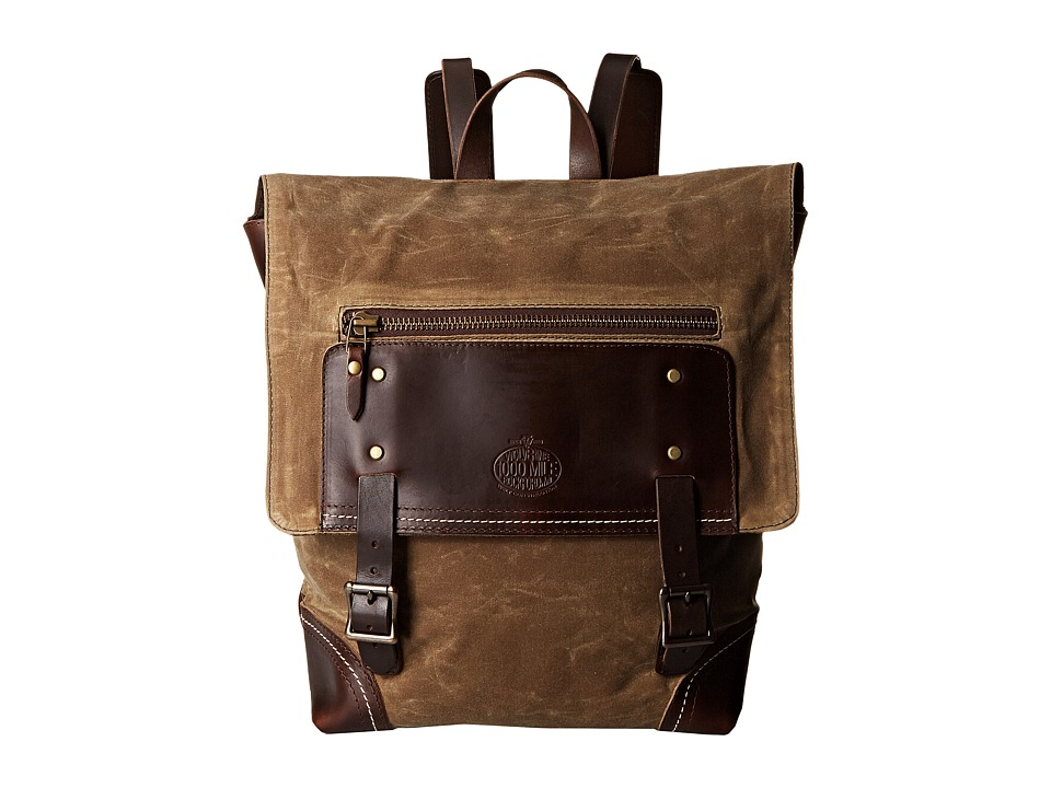 Wolverine 1000 Mile Explorer Backpack Brown Backpack Bags