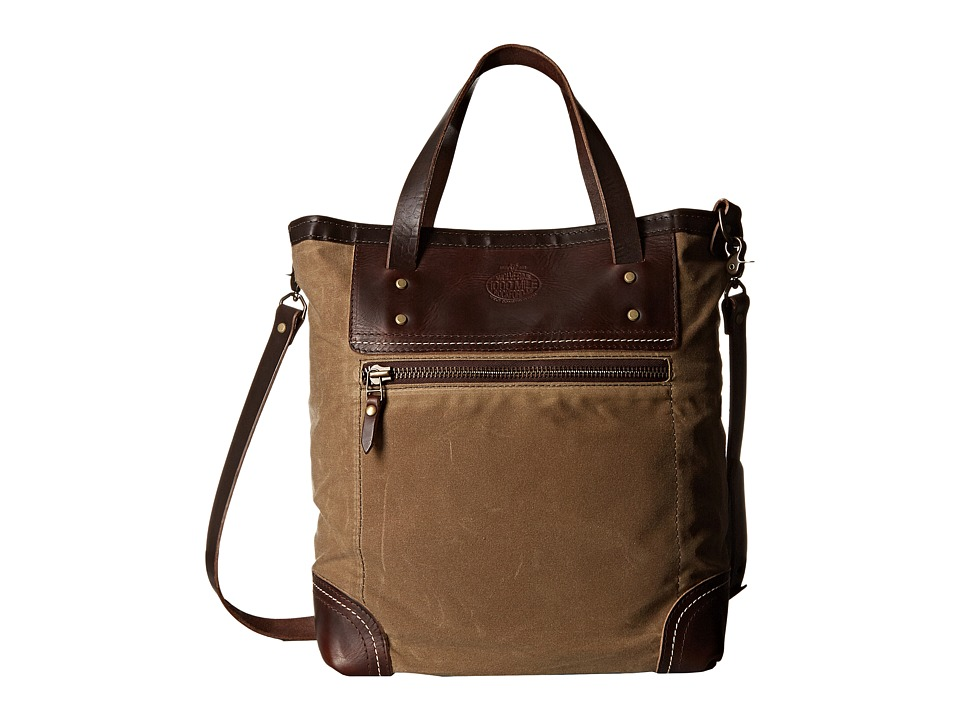 Wolverine 1000 Mile Rambler Tote Bag Brown Tote Handbags